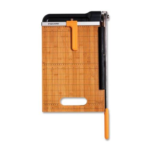 Fiskars-12-Inch-Bypass-Bamboo-Base-Titanium-Carbide-Blade-Paper-Trimmer-01-005744-0