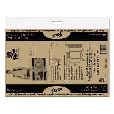 Foldable-Carry-All-Presentation-Board-Opens-to-48-x-36-Brown-3CT-Sold-as-1-Carton-3-Each-per-Carton-0