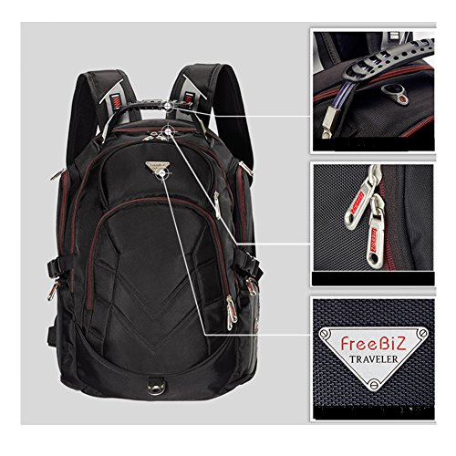 FreeBiz-184-Inches-Laptop-Backpack-Fits-up-to-18-Inch-Gaming-Laptops-for-Dell-Asus-MsiHp-Black-0-1