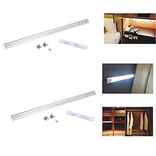 GHP-Set-of-2-50cm-White-PIR-Sensor-Kitchen-Wardrobe-Cupboard-LED-Cabinet-Light-0