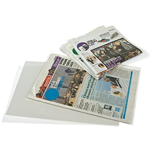Gaylord-Archival-3-mil-Archival-Polyester-Newspaper-Preservation-Sleeves-5-Pack-0