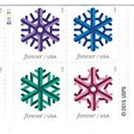 Geometric-Snowflakes-USPS-Forever-Stamps-0