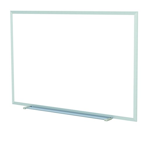 Ghent-485-x-965-Aluminum-Frame-Non-Magnetic-Whiteboard-w-1-Marker-Eraser-Made-in-USA-0