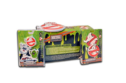 Ghostbusters-School-SPIRIT-Bundle-Metal-School-Supplies-Storage-Box-1-GB-Eraser-USB-Combo-1-Spiral-Notepad-3-Erasers-Ecto-1-Stay-Puft-Slimer-1984-5-off-Pre-Order-5-Ep-of-GB-Cartoon-0-0