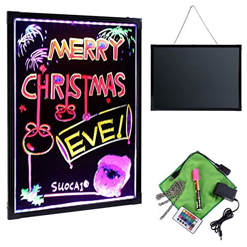 Giantex-Flashing-LED-Writing-Board-Menu-Sign-Fluorescent-Message-Erasable-32-X-24-0-0