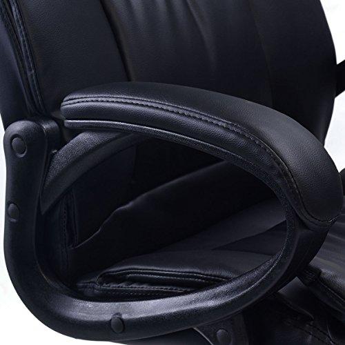 Giantex-Pu-Leather-Ergonomic-High-Back-Executive-Computer-Desk-Task-Office-Chair-Black-0-0