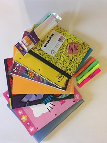 Boys Grade 6 12 School Supply Bundle Office Supply