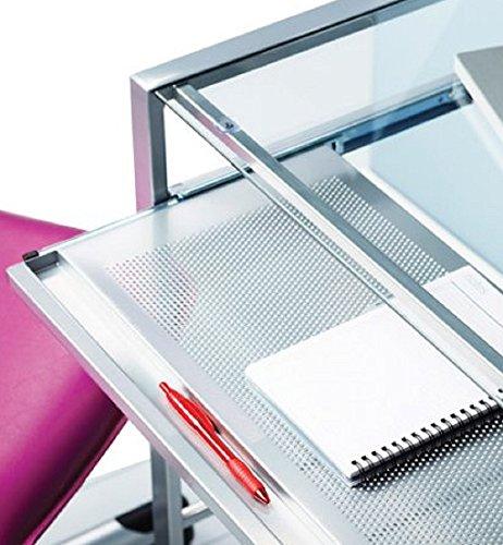 Glass-Top-Laptop-Computer-Desk-PC-Workstation-Table-Modern-Durable-Design-0-0
