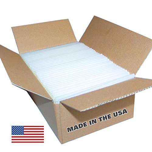 Glue-Sticks-25-Lbsapproximately-450-Sticks-Clear-Economy-High-Strength-Glue-Sticks-716-X-10-Made-in-the-USA-0