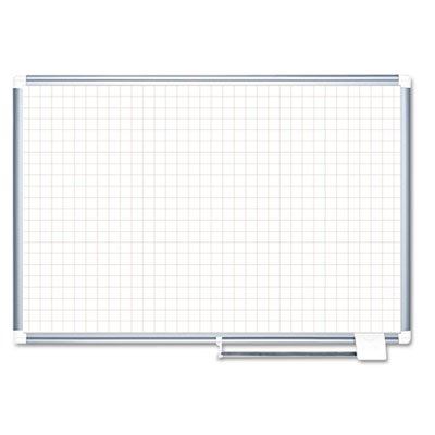 Grid-Planning-Board-1-Grid-72×48-WhiteSilver-Sold-as-1-Each-0