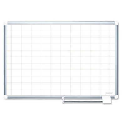 Grid-Planning-Board-2×3-Grid-72×48-WhiteSilver-Sold-as-1-Each-0