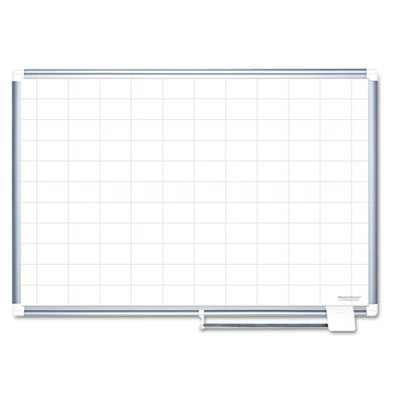 Grid-Planning-Board-48×36-2×3-Grid-WhiteSilver-Sold-as-1-Each-0