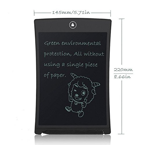 HKFLY-85-Inch-Office-Electronic-Board-LCD-Writing-Tablet-with-Stylus-Small-Erasable-Blackboard-0-0
