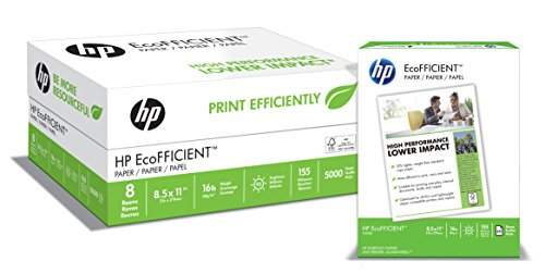 HP-Paper-EcoFFICIENT-Copy-Paper-16lb-85×11-Letter-92-Bright-5000-Sheets-8-Ream-Case-216000C-Made-In-The-USA-0