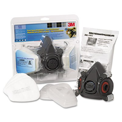 Half-Facepiece-Paint-SprayPesticide-Respirator-Large-Sold-as-1-Each-0