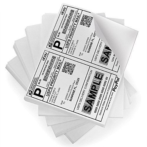 Half-Sheet-LaserInk-Jet-Shipping-Labels-USPS-UPS-FedEx-Address-Labels-Compare-to-Avery-5126-0-0