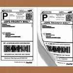 Half-Sheet-LaserInk-Jet-Shipping-Labels-USPS-UPS-FedEx-Address-Labels-Compare-to-Avery-5126-0