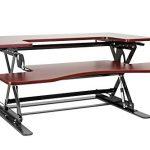 Halter-ED-258-Preassembled-Height-Adjustable-Desk-Sit-Stand-Desk-Elevating-Desktop-0-1
