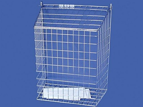 Harvey-Letter-Cage-Large-Chrome-0