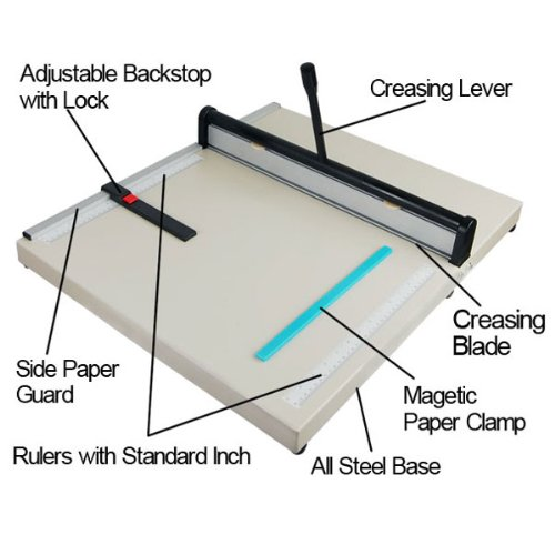 Heavy-Duty-Steel-Base-20-Manual-Paper-Scoring-Creasing-Machine-for-Home-Office-0-0