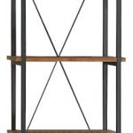 Homelegance-3228-12-Bookcase-Shelves-BrownBlack-0
