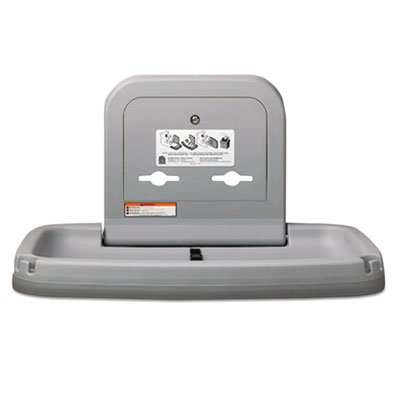 Horizontal-Baby-Changing-Station-Gray-Sold-as-1-Each-0-0