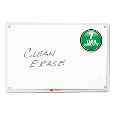 IQTotal-Erase-Board-11-x-7-White-Clear-Frame-Sold-as-1-Each-0-0