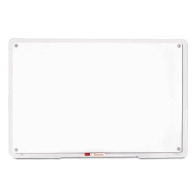 IQTotal-Erase-Board-11-x-7-White-Clear-Frame-Sold-as-1-Each-0