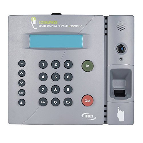 Icon-Time-Systems-TotalPass-Small-Business-Premium-Biometric-Time-Clock-0