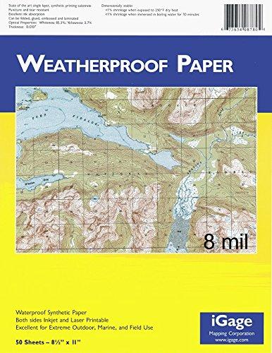 Igage-Weatherproof-Paper-8-Mil-50-Sheets-8770-0
