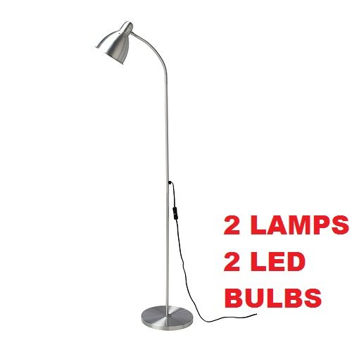 Your Zone 5 Light Floor Lamp Pink Office Supply