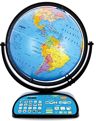 Intelliglobe-II-Advanced-Interactive-Talking-Kids-Globe-with-Wireless-Intellipen-and-World-Discovery-Book-by-Replogle-Globes-0-0
