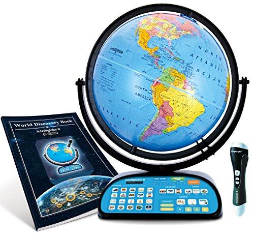Intelliglobe-II-Advanced-Interactive-Talking-Kids-Globe-with-Wireless-Intellipen-and-World-Discovery-Book-by-Replogle-Globes-0
