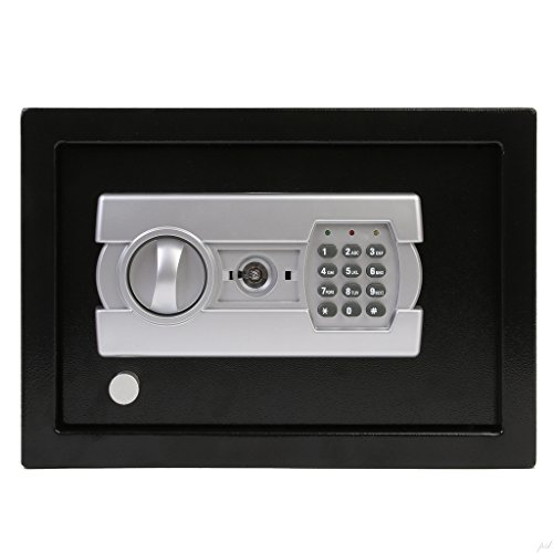 Ivation-Electronic-Gun-Drawer-Safe-wFull-Digit-Keypad-Override-Keys-Solid-Steel-Construction-Hidden-WallFloor-Anchoring-Design-Runs-on-4-AA-Batteries-Included-0-1