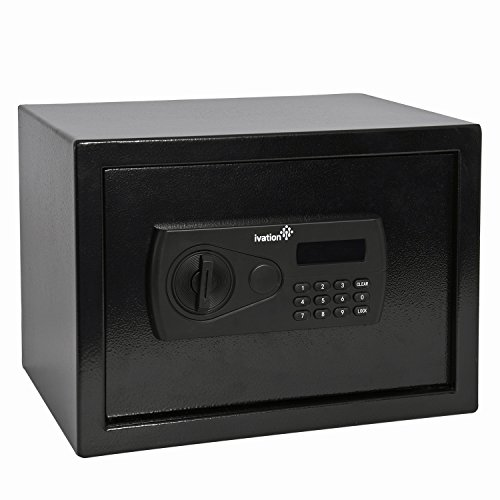 Ivation-Steel-Digital-Safe-08-Cubic-Feet-Home-Safety-Security-Box-With-Number-Code-Lock-2-Manual-Keys-Mounting-Kit-0