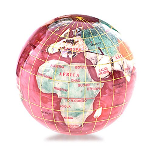 KALIFANO-3-Gemstone-Globe-Paperweight-with-Opalite-Ocean-0
