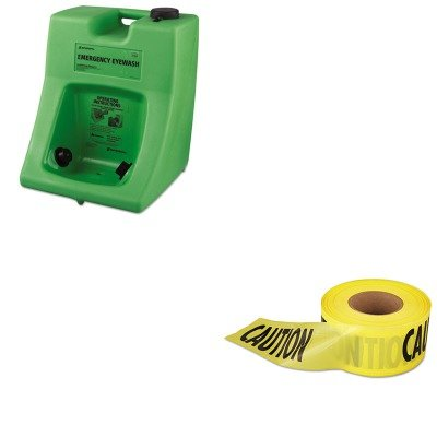 KITEML711001FND320002300000-Value-Kit-Honeywell-Fendall-Porta-Stream-II-Eye-Wash-Station-FND320002300000-and-Empire-Level-Caution-Barricade-Tape-EML711001-0