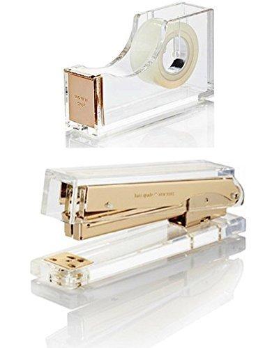 Kate-Spade-New-York-Assortment-1-Tape-Dispenser-and-1-Stapler-0