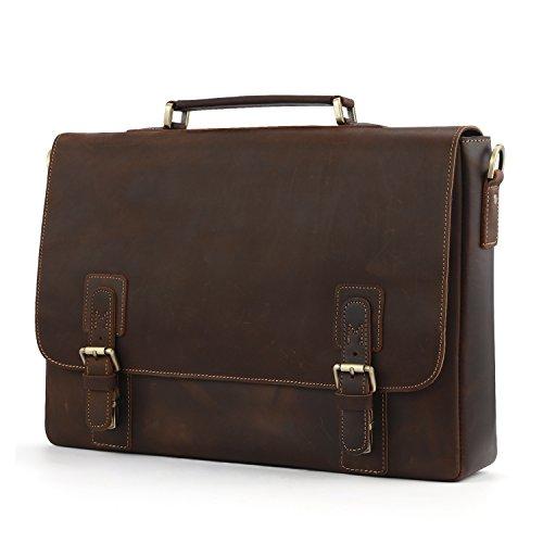 Kattee-Mens-Leather-Satchel-Briefcase-16-Laptop-Messenger-Shoulder-Bag-Tote-0-0