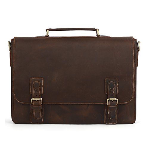 Kattee-Mens-Leather-Satchel-Briefcase-16-Laptop-Messenger-Shoulder-Bag-Tote-0-1