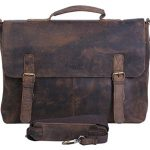 KomalC-15-Inch-Retro-Buffalo-Hunter-Leather-Laptop-Messenger-Bag-Office-Briefcase-College-Bag-0