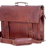 Komals-Passion-Leather-18-Inch-Retro-Leather-Briefcase-Laptop-Messenger-Bag-0-0