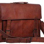 Komals-Passion-Leather-18-Inch-Retro-Leather-Briefcase-Laptop-Messenger-Bag-0