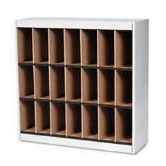 Kwik-File-Vertipocket-Vertical-Sorter-21-Pockets-37w-x-12d-x-37h-Pebble-Gry-0