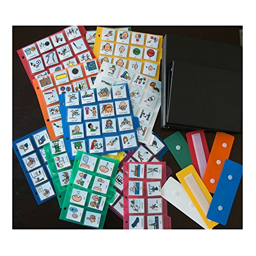 LOT-460-WASL-CARDS-PECS-COMMUNICATION-2-BOOKS-AUTISM-PERSONALIZED-ABA-THERAPY-0-1