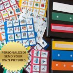 LOT-460-WASL-CARDS-PECS-COMMUNICATION-2-BOOKS-AUTISM-PERSONALIZED-ABA-THERAPY-0
