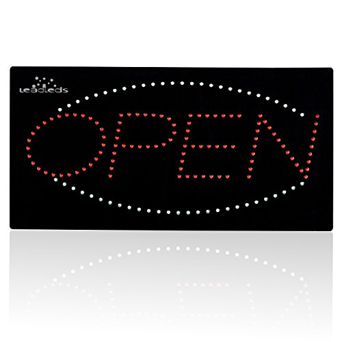 Leadleds-1910-1-Neon-Sign-Portable-19-inch-Led-Open-Sign-Board-Red-and-Blue-Color-with-2-Light-Modes-for-Beauty-Salon-Nail-Sushi-Bakery-Barber-Massage-Restaurant-Office-Store-Business-0-0
