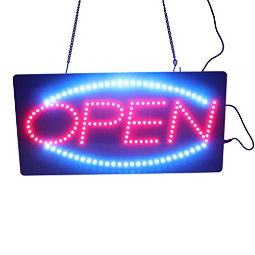 Leadleds-1910-1-Neon-Sign-Portable-19-inch-Led-Open-Sign-Board-Red-and-Blue-Color-with-2-Light-Modes-for-Beauty-Salon-Nail-Sushi-Bakery-Barber-Massage-Restaurant-Office-Store-Business-0