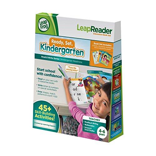 LeapFrog-LeapReader-Read-and-Write-Book-Set-Ready-Set-Kindergarten-for-LeapReader-0
