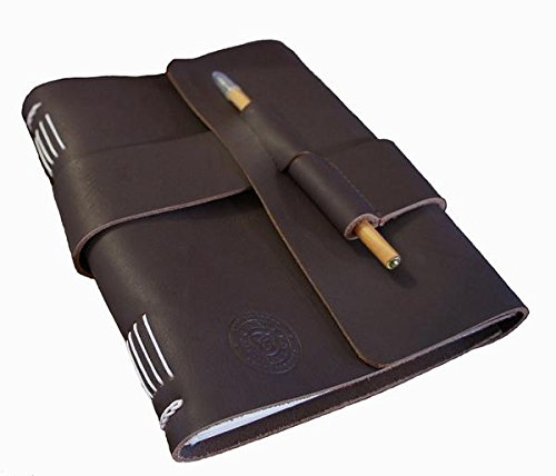 Leather-Journal-Diary-with-Bamboo-Pen-by-case-Elegance-0-0